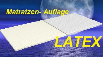 LATEX Matratzen-Auflage