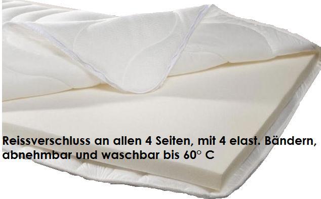 Matratze Zu Hart Auflage matratzen auflage topper